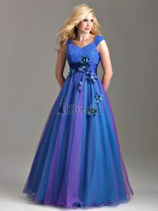 Night Moves 2012 Modest Prom Dress 6585M