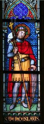 St. Wenceslas stained glass