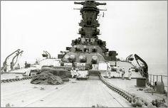 Battleship Musashi - Imperial Japanese Navy - 18.1 inch Naval Guns