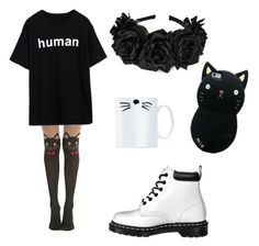 """◼️◼️◼️"" by lgcutie on Polyvore featuring Dr. Martens"