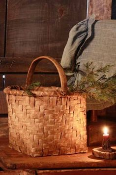 Prim Basket |  Primitive Accents | Primitive Vignette