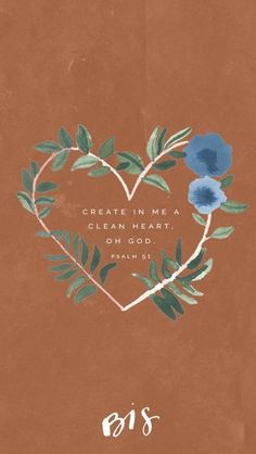 bible quotes Week of Lent // Psalm // A clean heart create for me, God; renew within me a steadfast spirit. // Blessed is She Bible Verses Quotes, Bible Scriptures, Faith Quotes, Psalms Verses, Jesus Quotes, Bibel Journal, Psalm 51, Blessed Is She, Bible Verse Wallpaper