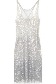 stella mccartney sequin tank dress : Minimal + Classic | Nordhaven Studio