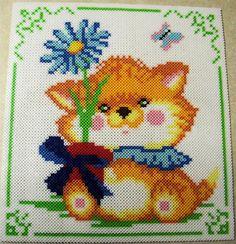 Cute Kitty perler beads - Perler® | Gallery