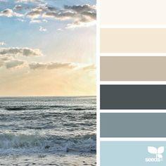 Explore Design Seeds color palettes by collection. Ocean Color Palette, Ocean Colors, Colour Pallette, Colour Schemes, Color Combinations, Colours, Pantone, Color Palette Challenge, Sunrise Colors