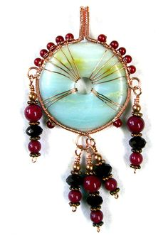 Spirit Pendant tutorial, #diy, #jewelry