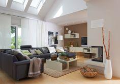 #Viebrockhaus Edition 500 B #WOHNIDEE-Haus - Ein #Bungalow mit frischen Wohnideen - #Wohnzimmer
