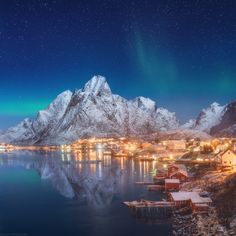 Tales of the North by Daniel Korzhonov - Reine village, Lofoten - Norway
