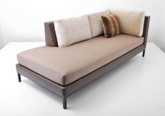 Christian Liaigre for Holly Hunt Sofa/Daybed, Pair Available | From a unique collection of antique and modern day beds at http://www.1stdibs.com/furniture/seating/day-beds/