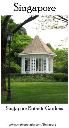 "The Singapore Botanic Gardens: one of Singapore's ""must sees""... Read all about it in our free travel guides, right here: http://www.metropolasia.com/ebooks/singapore"