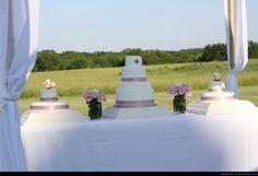 Davis/Blair Remnant Fellowship Wedding Cake