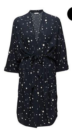 37d780f0ce95 Blå Samsøe Samsøe kjole for kun 40 DKK dagligt på RentAtrend