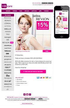 REVLON DAYDEAL Mail Marketing, Revlon, Loreal, Hair Loss, Hair Care, Perfume, Hair Care Tips, Hair Makeup, Fragrance