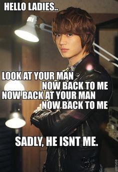Minho kpop macro haha!Well I guess it's a good thing I don't have a man ;) hehe