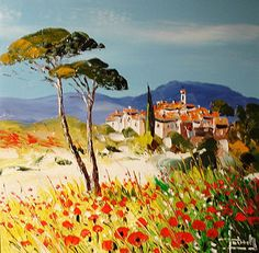 peintre Provence peinture Provence Catherine Grenouillat