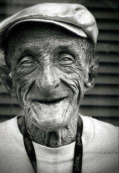 Una sonrisa siempre es bella.