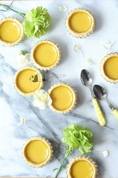 港式蛋撻【牛油皮(奶油皮)】Butter Egg Tart Recipe - 肥丁手工坊