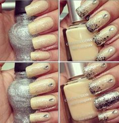 Silver and nude