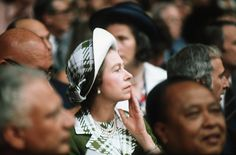 Pin for Later: The Royal Family's Travel Album Canada The queen watched the Olympics in 1976.