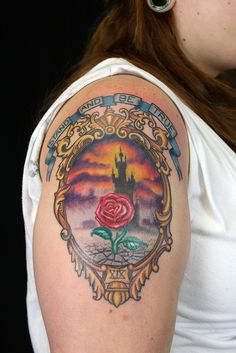 Dark Tower tattoo - I'm not loving the entire design but it has some pretty kick ass elements.  I will get one soon...