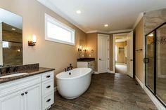 Fischer Homes - Crestview Model Master Bathroom