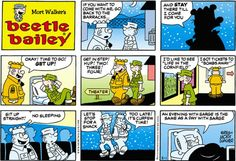 Beetle Bailey strip for February 1, 2015