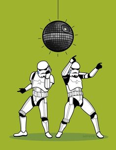 Stormtrooper dance by Miguel Almeida<<< Go to Youtube and check out the 'Stormtrooper Twerk' Video.