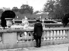 pensive in the jardin du luxembourg... vicki archer