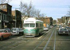 DC Transit Silver Sightseer PCCs (1960s) (Steve Michaels).
