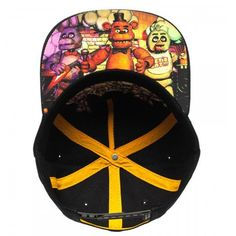 factory authentic c6e4c 44b31 BIOWORLD Black Freddy Fazbear s Pizza Snapback Baseball Cap Five Nights at Freddy s  is an indie point-and-click survival horror video game created by Scott