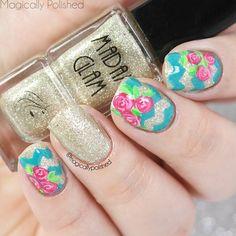 magicallypolished #nail #nails #nailart