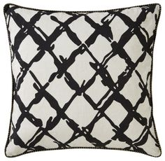 Jaipur Living Cosmic by Nikki Chu CNK22 Black Modern/Contemporary Pillow