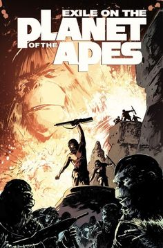 Exile on the Planet of the Apes - by Corinna Bechko and Gabriel Hardman, Art by Marc Laming