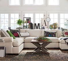 Pottery Barn's done it again. Wednesday's Windows - The Globally Inspired Home: Part 1