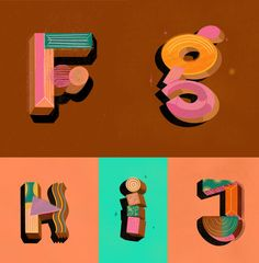 Top Typography Inspiration - Design Inspiration - Art Direction