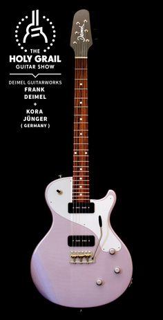 Exhibitor at The Holy Grail Guitar Show 2014: Frank Deimel + Kora Jünger, Deimel Guitarworks, Germany www.deimelguitarworks.de www.facebook.com/DeimelGuitarworks http://holygrailguitarshow.com
