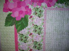 Marsha Sees Geraniums and I See Hydrangeas by Marilyn Farquhar