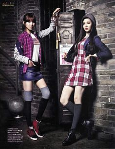 Sooyoung and seohyun for tommy hilfiger