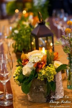 fall wedding centerpiece #wedding #fall #fallwedding #fallweddingflowers