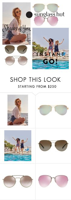 """""""Shades of You: Sunglass Hut Contest Entry"""" by fashionlover158 ❤ liked on Polyvore featuring Tiffany & Co., Prada, Miu Miu and shadesofyou"""