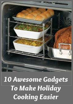 Cooking for the holidays? Whether you're cooking turkey or a ham or roast for your holiday meal, there are some new gadgets that can make your work easier and your dinner yummier...see more at Inventorspot.com