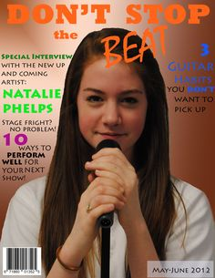 Magazine cover by Elysha