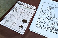 Games at a Camping Party #camping #party