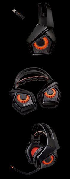 ASUS ROG Strix Wireless 7.1 Gaming Headset [ROG-STRIX-WIRELESS] : PC Case Gear