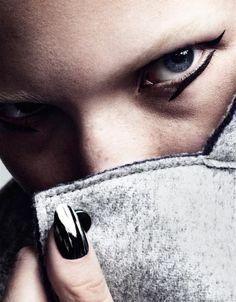 Sasha Luss by Marcus Ohlsson for Vogue Japan, Nov 2015.