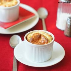 Ma Niche: Herbed Manchego Cheese Soufflé with Onion Pear Jam