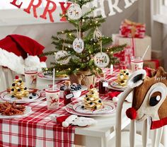 Rudolph the Red-Nosed Reindeer® Ceramic Plate Set | Pottery Barn Kids