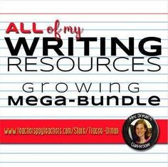 WRITING resources growing bundle: includes essay writing, creative writing, research skills, and journalism. Persuasive Essay Topics, Argumentative Writing, Narrative Writing, Writing Prompts, Research Writing, Research Skills, Common Core Writing, Help Teaching, Teaching Ideas