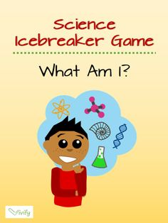 A fun and easy ice breaker game that is perfect for science! You can use this on the first day of school or for practicing science vocabulary words.