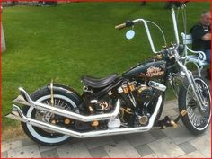 Awesome Harley Davidson Chopper | Totally Rad Choppers
